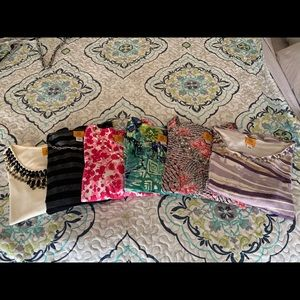Lot of 6 Ruby Rd Tops